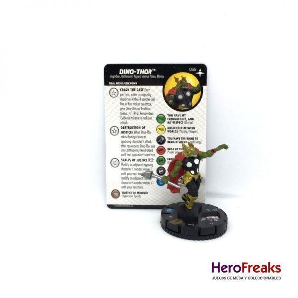 Heroclix Secret Wars Battleworld – 055 Dino-Thor