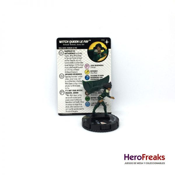 Heroclix Secret Wars Battleworld – 056 Witch Queen Le Fay
