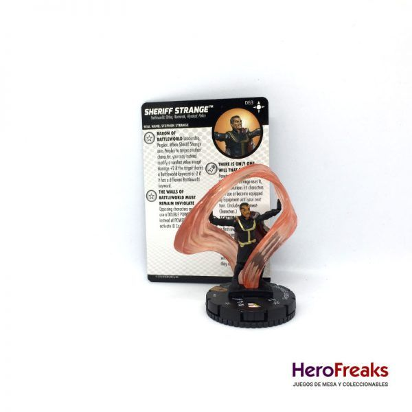 Heroclix Secret Wars Battleworld – 063 Sheriff Strange