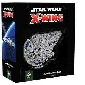 Star Wars X-Wing Segunda Edición Halcón Milenario de Lando