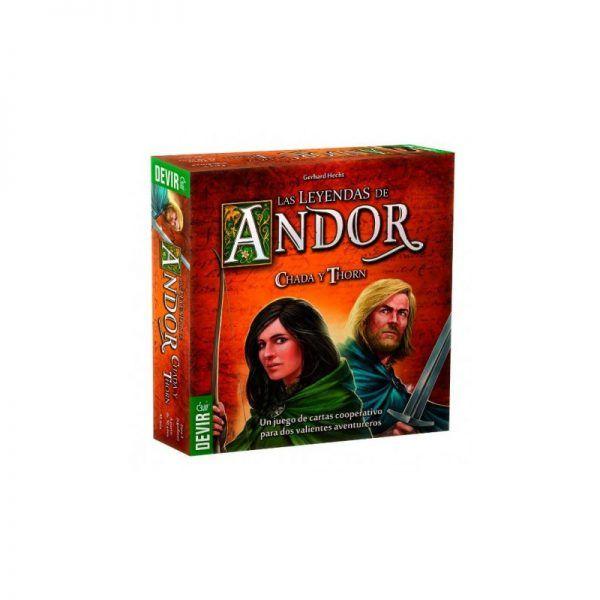 Las Leyendas de Andor Chada y Thorn
