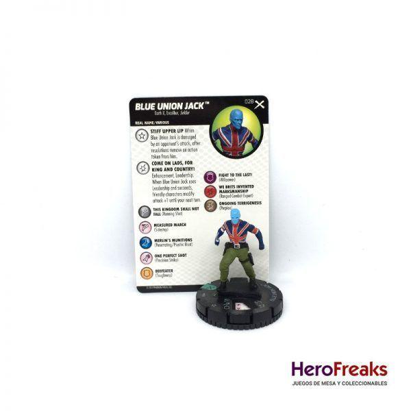 Heroclix: Earth X – 028 Blue Union Jack