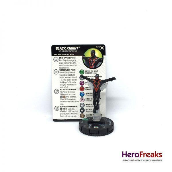 Heroclix: Earth X – 032 Black Knight