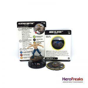 Heroclix: Earth X – 036 Alistair Smythe + S002 Mini-Slayer