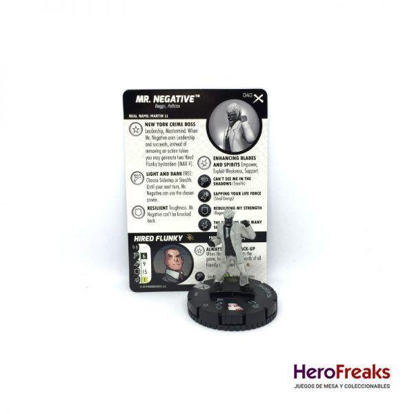 Heroclix: Earth X – 040 Mr. Negative