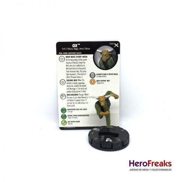 Heroclix: Earth X – 043 Ox