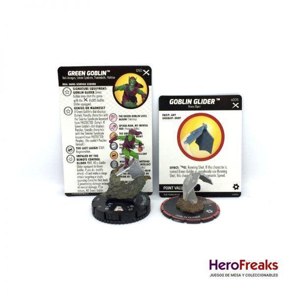 Heroclix: Earth X – 050 Green Goblin + S005 Goblin Glider