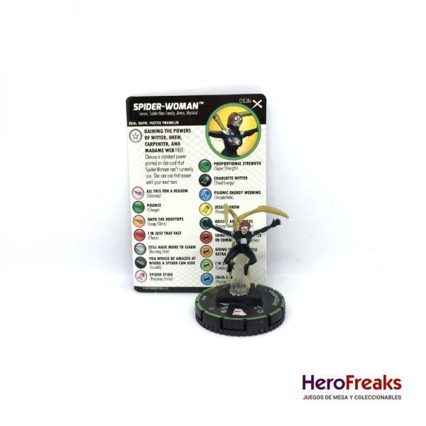 Heroclix: Earth X – 053b Spider-Woman