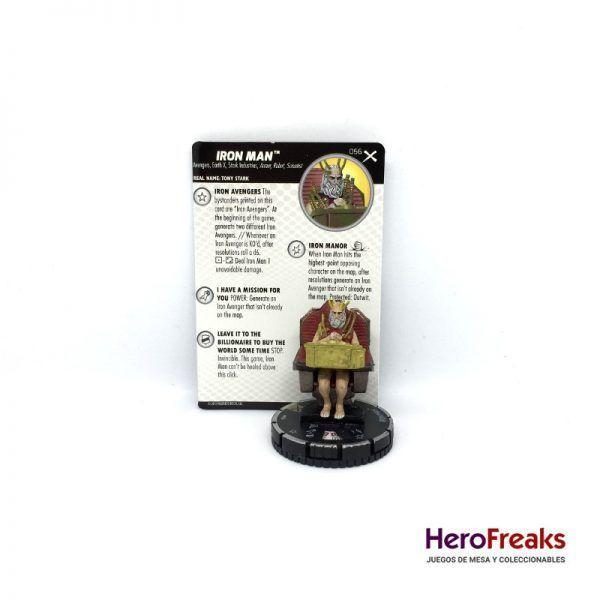 Heroclix: Earth X – 056 Iron Man