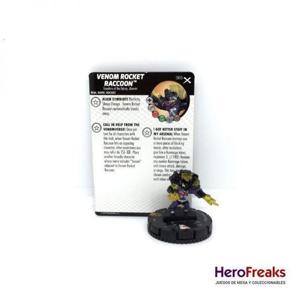 Heroclix Earth X – 065 Venom Rocket Racoon