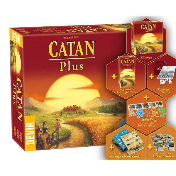 Catan Plus 2019 Content