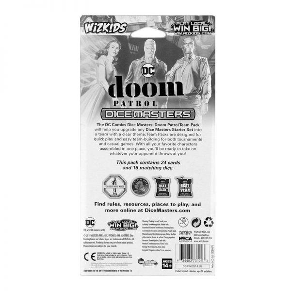 Dice Masters DC Doom Patrol Team Pack