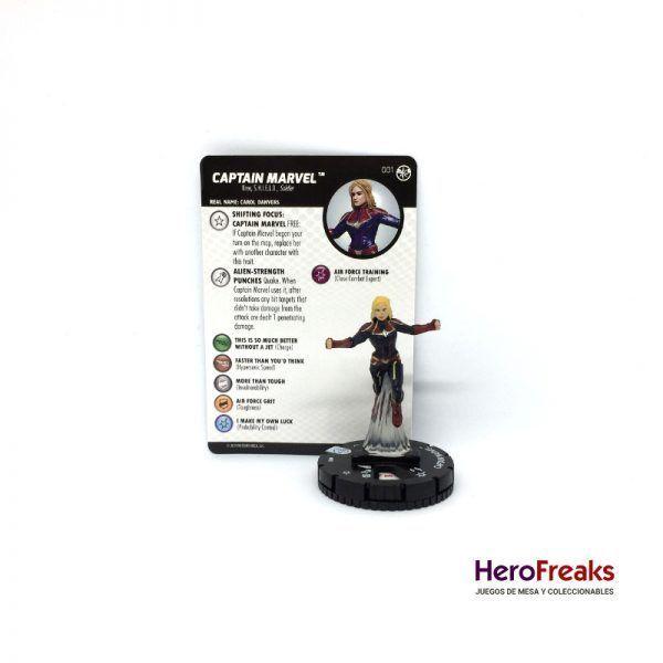Heroclix Captain Marvel – 001 Captain Marvel