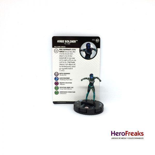 Heroclix Captain Marvel – 002 Kree Soldier