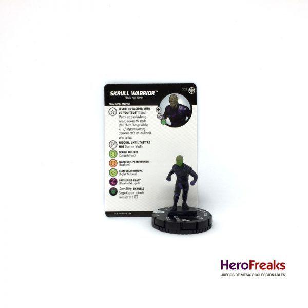 Heroclix Captain Marvel – 003 Skrull Warrior