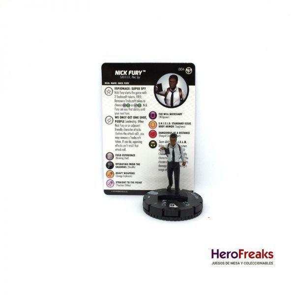 Heroclix Captain Marvel – 004 Nick Fury