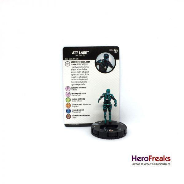 Heroclix Captain Marvel – 005 Att Lass