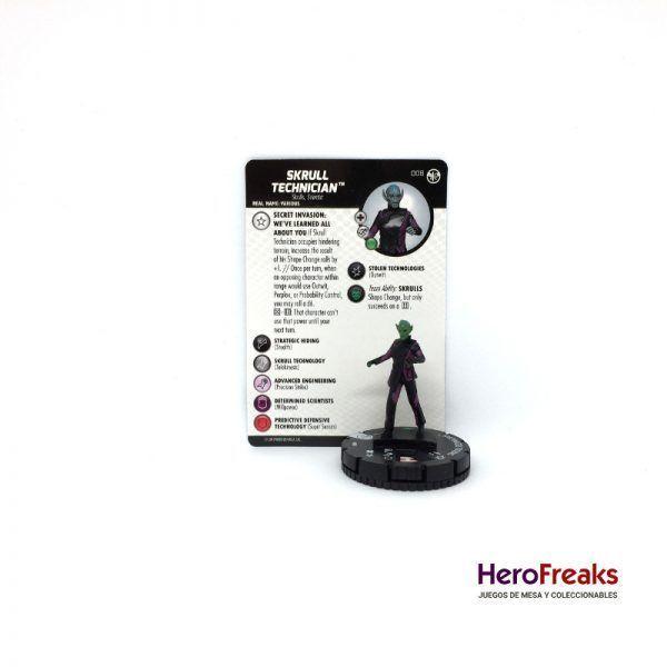 Heroclix Captain Marvel – 008 Skrull Technician