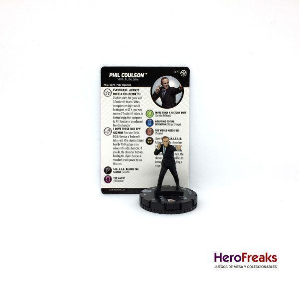 Heroclix Captain Marvel – 009 Phil Coulson