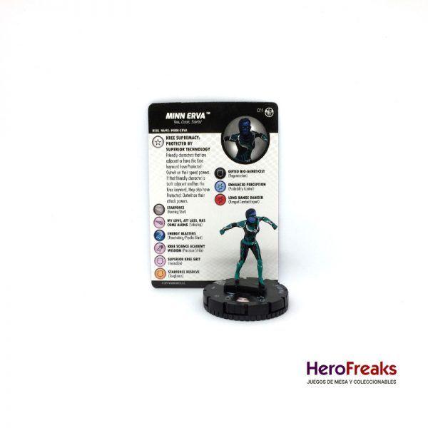 Heroclix Captain Marvel – 011 Minn Erva
