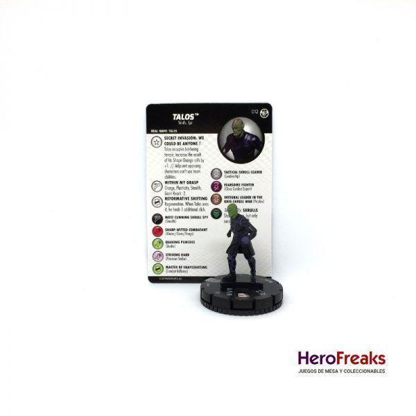 Heroclix Captain Marvel – 012 Talos
