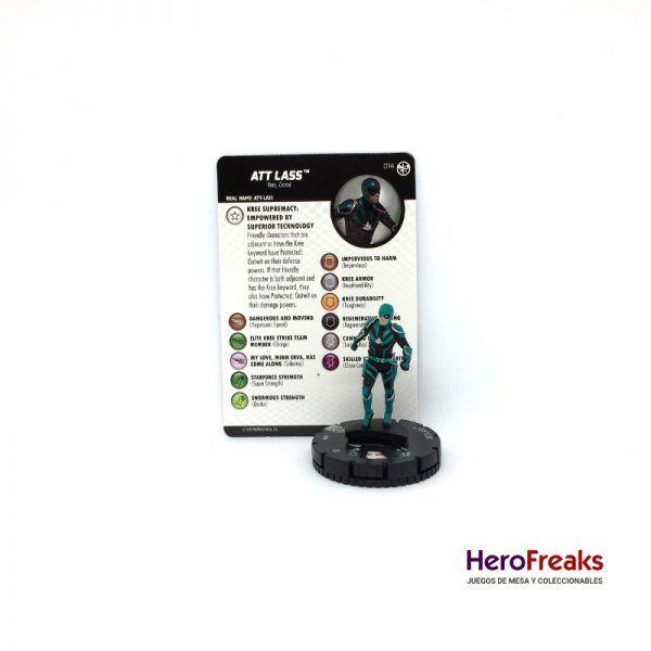 Heroclix Captain Marvel – 014 Att Lass