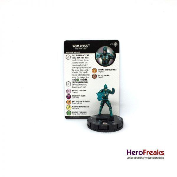 Heroclix Captain Marvel – 015 Yon Rogg