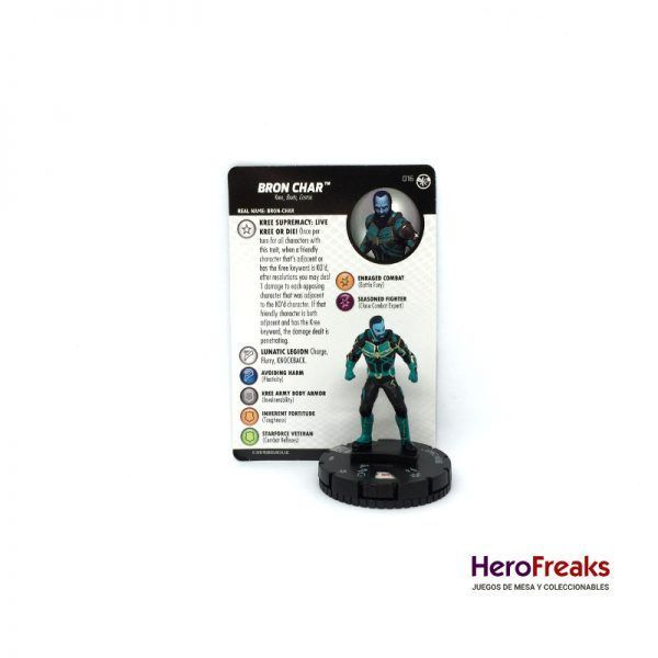 Heroclix Captain Marvel – 016 Bron Char