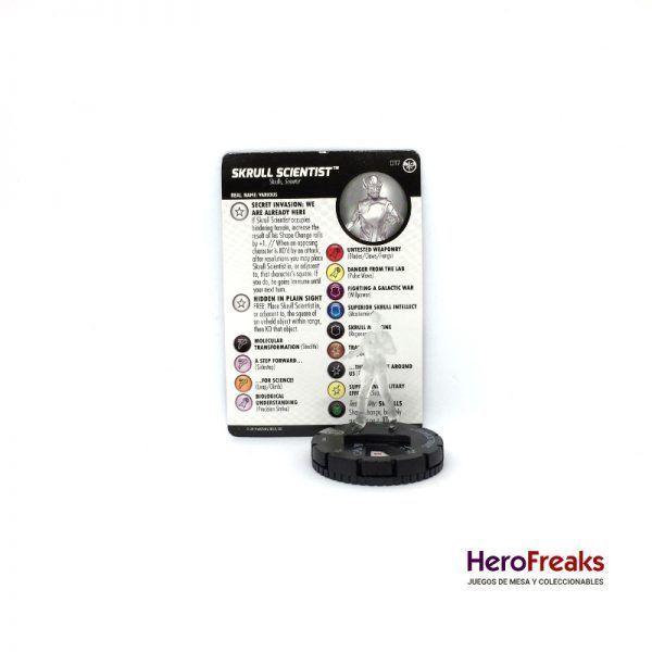 Heroclix Captain Marvel – 017 Skrull Scientist