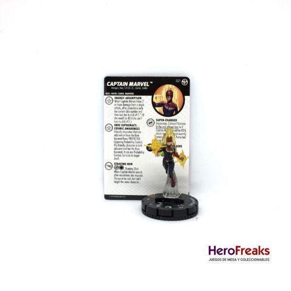 Heroclix Captain Marvel – 021 Captain Marvel
