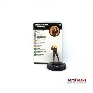 Heroclix Captain Marvel – 022 Carol Danvers, Fearless