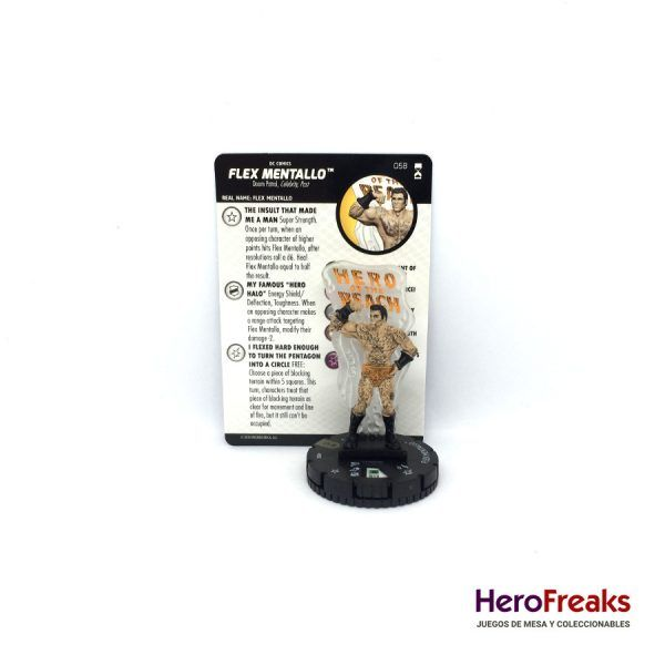 Heroclix DC Rebirth – 058 Flex Mentallo