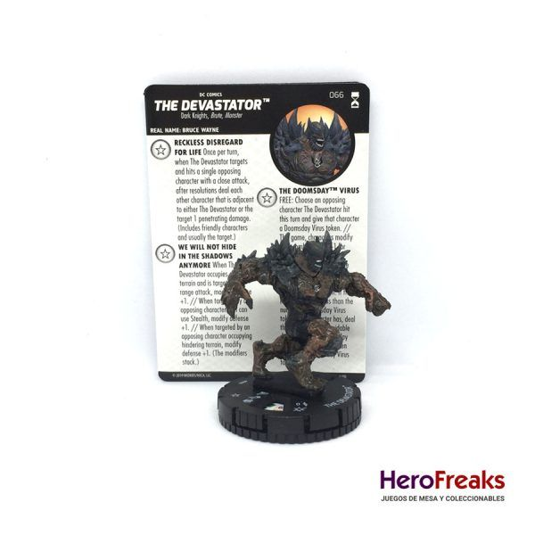 Heroclix DC Rebirth – 066 The Devastator