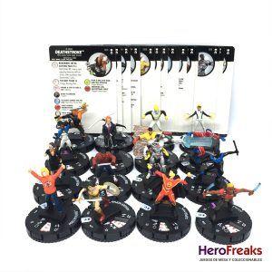 Heroclix DC Rebirth – Lote Comunes