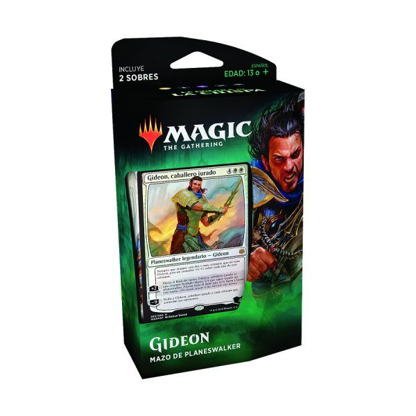 MTG La Guerra de la Chispa - Mazo de Planeswalker Gideon 1