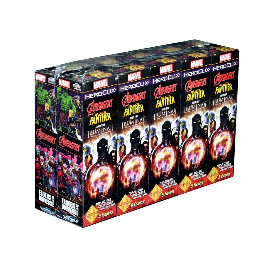 Heroclix Avengers Black Panther and the Iluminati - Booster Brick