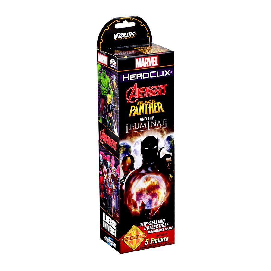 Heroclix Avengers Black Panther and the Iluminati - Booster