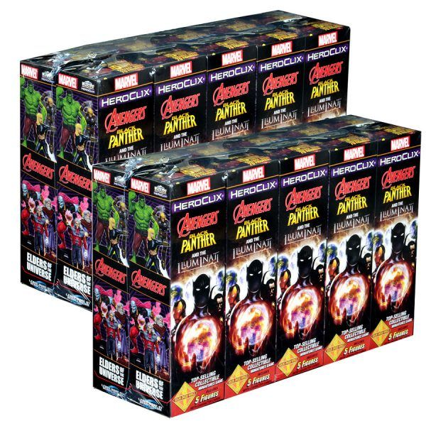 Heroclix Avengers Black Panther and the Iluminati - Case