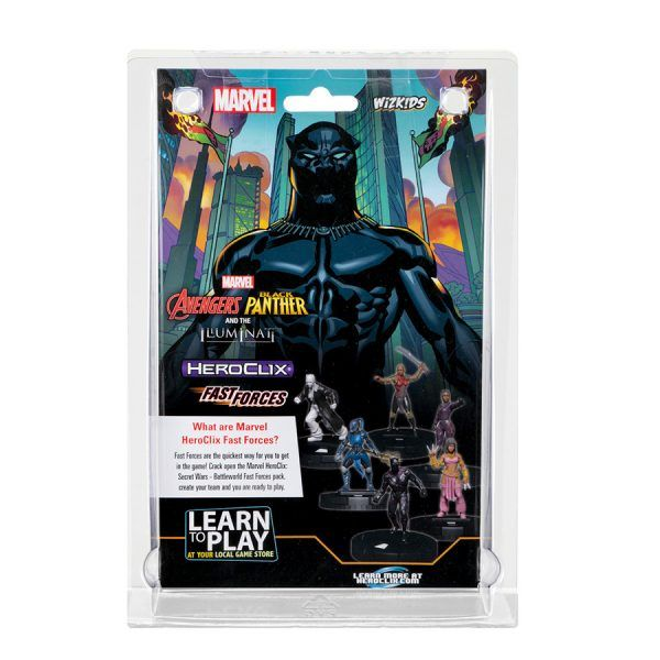 Heroclix Avengers Black Panther and the Iluminati - Fast Forces