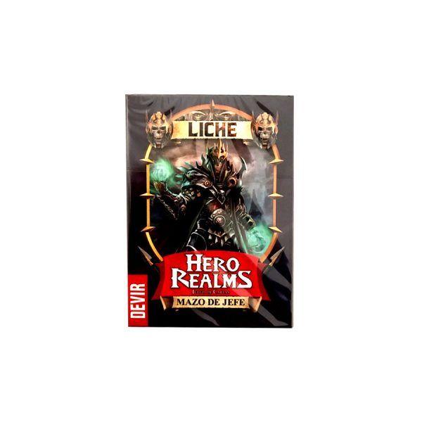 Hero Realms Mazo de Jefe - Liche
