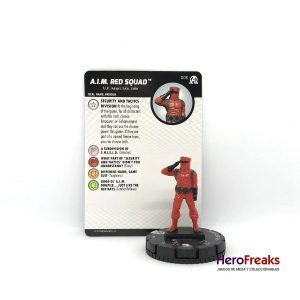 Heroclix Avengers Black Panther Illuminati – 005 A.I.M. Red Squad