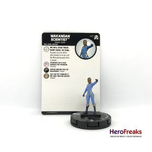 Heroclix Avengers Black Panther Illuminati – 007 Wakandan Scientist