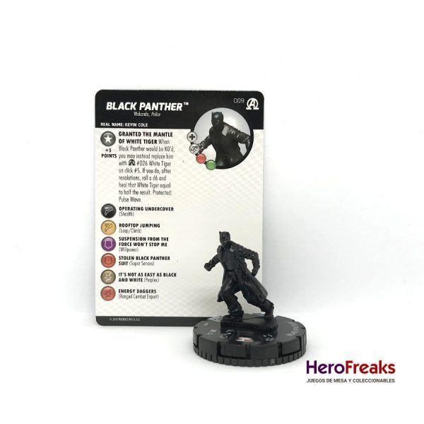Heroclix Avengers Black Panther Illuminati – 009 Black Panther