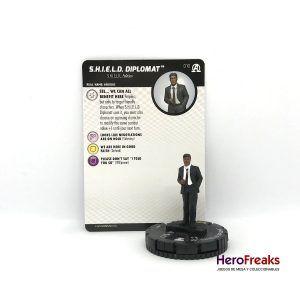 Heroclix Avengers Black Panther Illuminati – 010 S.H.I.E.L.D. Diplomat