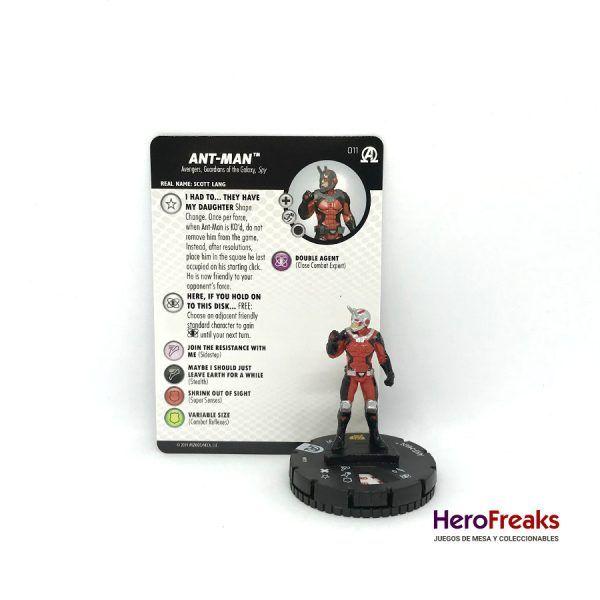 Heroclix Avengers Black Panther Illuminati – 011 Ant – Man