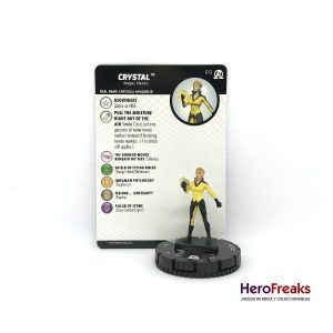 Heroclix Avengers Black Panther Illuminati – 012 Crystal