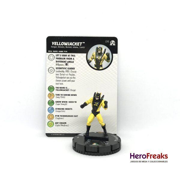 Heroclix Avengers Black Panther Illuminati – 015 Yellowjacket