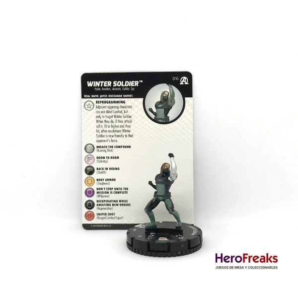 Heroclix Avengers Black Panther Illuminati – 016 Winter Soldier