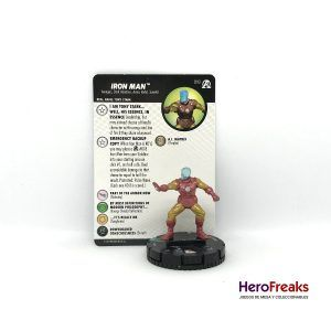 Heroclix Avengers Black Panther Illuminati – 018 Iron Man