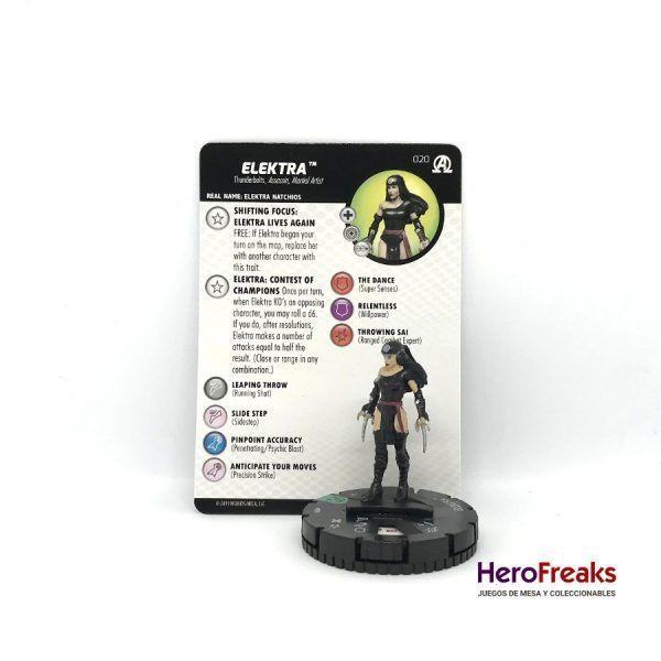 Heroclix Avengers Black Panther Illuminati – 020 Elektra